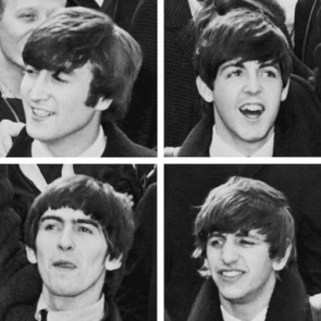 a picture of The Beatles, the rock band